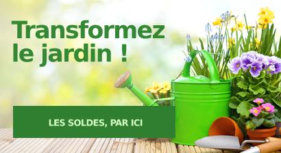 Transformez le jardin